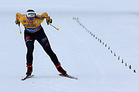 31st December 2019; Dobbiaco, Toblach, South Tyrol, Italy;  FIS Tour de Ski - Cross Country Ski World Cup 2019  in Dobbiaco, Toblach, on December 31, 2019; Antonia Fraebel of Germany finihes in the Womens individual 10km
