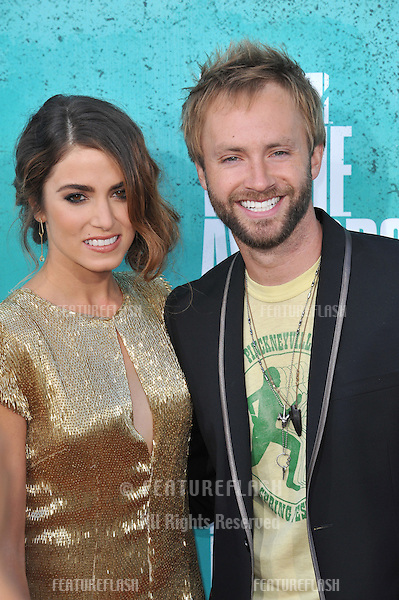 Nikki Reed & Paul McDonald at the 2012 MTV Movie Awards at Universal Studios, Hollywood..June 4, 2012  Los Angeles, CA.Picture: Paul Smith / Featureflash