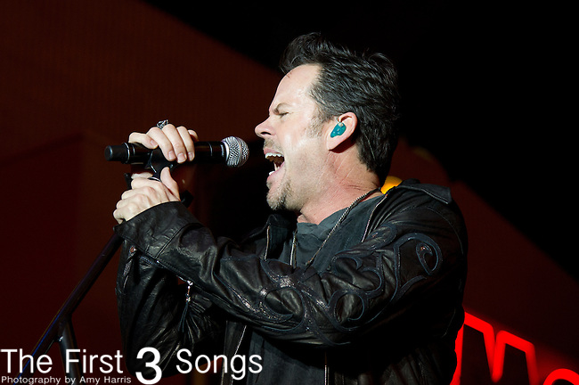 Gary Allan performs during the 2013 ACM Concerts at Fremont Street Experience Event in Las Vegas, Nevada.