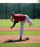 Junior Garcia - Arizona Diamondbacks 2016 spring training (Bill Mitchell)