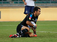Gianluigi Buffon during the  friendly  soccer match,between Italy  and  France   at  the San  Nicola   stadium in Bari Italy , September 02, 2016<br /> <br /> amichevole di calcio tra le nazionali di Italia e Francia