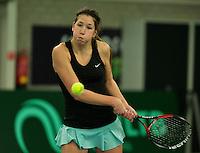 Rotterdam, The Netherlands, March 19, 2016,  TV Victoria, NOJK 14/18 years, Kim Hansen (NED)<br /> Photo: Tennisimages/Henk Koster