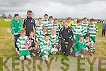CHAMPIONS: The Killarney Celtic U12 team winner of the JK Sports Premier League Final at Mounthawk, Tralee on Saturday.