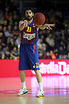 JUan Carlos Navarro. FC Barcelona Regal vs Fenerbahce Ulker: 100-78 - Top 16 - Game 1.