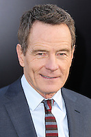 "HOLLYWOOD, LOS ANGELES, CA, USA - MAY 08: Bryan Cranston at the Los Angeles Premiere Of Warner Bros. Pictures And Legendary Pictures' ""Godzilla"" held at Dolby Theatre on May 8, 2014 in Hollywood, Los Angeles, California, United States. (Photo by Xavier Collin/Celebrity Monitor)"