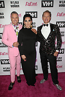 "13 May 2019 - Los Angeles, California - Ross Mathews, Michelle Visage, Carson Kressley. ""RuPaul's Drag Race"" Season 11 Finale Taping held at The Orpheum Theatre. Photo Credit: Faye Sadou/AdMedia<br /> CAP/ADM/FS<br /> ©FS/ADM/Capital Pictures"