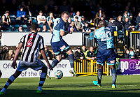 Garry Thompson of Wycombe Wanderers during the Sky Bet League 2 match between Wycombe Wanderers and Notts County at Adams Park, High Wycombe, England on the 25th March 2017. Photo by Liam McAvoy.