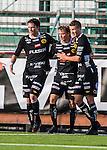 S&ouml;dert&auml;lje 2013-10-06 Fotboll Allsvenskan Syrianska FC - IF Elfsborg :  <br /> Elfsborg 19 Simon Hedlund gratuleras av Elfsborg 9 Lasse Nilsson och Elfsborg 25 Marcus Rohd&eacute;n efter sitt 1-1 m&aring;l<br /> (Foto: Kenta J&ouml;nsson) Nyckelord:  jubel gl&auml;dje lycka glad happy