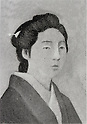 "Undated - Takahashi Oden (1848-1879), called ""Meijinodokufu"", female Japanese murderer known for killing a man, and being the last woman in Japan to be put to death by beheading. She was also suspected of poisoning her husband. (Photo by Kingendai Photo Library/AFLO)"