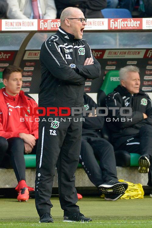06.02.2016, HDI Arena, Hannover, GER, 1. Bundesliga, Hannover96 - 1. FSV Mainz 05, im Bild Hannover's Trainer Thomas Schaaf<br /> <br /> <br /> Foto &copy; nordphoto / Dominique Leppin