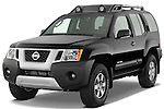 Front three quarter view of a 2009 Nissan Xterra Off Road.