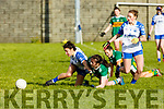 Action from Kerrry v Waterford in the LGFA National football league in Strand Road on Saturday as Kerry's Erica McGlynn and Waterford's Katie Hayes bear down on the ball.