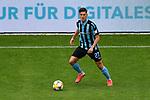 Waldhofs Gerrit Gohlke (Nr.27) am Ball beim Spiel in der 3. Liga, SV Waldhof Mannheim - Viktoria Koeln.<br /> <br /> Foto © PIX-Sportfotos *** Foto ist honorarpflichtig! *** Auf Anfrage in hoeherer Qualitaet/Aufloesung. Belegexemplar erbeten. Veroeffentlichung ausschliesslich fuer journalistisch-publizistische Zwecke. For editorial use only. DFL regulations prohibit any use of photographs as image sequences and/or quasi-video.