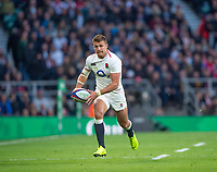 Twickenham, United Kingdom, Saturday, 3rd November 2018, RFU, Rugby, Stadium, England,   Centre, Henry SLADE, during the Quilter, Autumn International, England vs South Africa, © Peter Spurrier