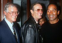 Larry Hagman Peter Fonda OJ Simpson 1993<br /> Photo By John Barrett/PHOTOlink.net