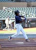 Bryan Acuna participates in the MLB International Showcase at Salt River Fields on November 12-14, 2019 in Scottsdale, Arizona (Bill Mitchell)