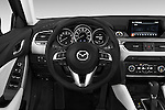 Car pictures of steering wheel view of a 2016 Mazda 6 i Grand Touring Auto 4 Door Sedan