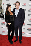 HOLLYWOOD, CA - NOVEMBER 09: Actors Lisa Marie Kubikoff (L) and Cary Elwes  attend the screening of Netflix's 'Mudbound' at the Opening Night Gala of AFI FEST 2017 presented by Audi at TCL Chinese Theatre on November 9, 2017 in Hollywood, California.