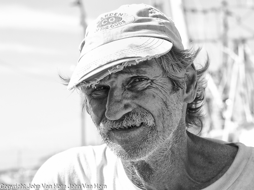 Wild Bill is another one of my Florida Keys shrimp boat subject. He is a wealth of knowledge about shrimp, catching shrimp and shrimp boats.