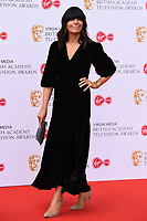 LONDON, UK. May 12, 2019: Claudia Winkleman arriving for the BAFTA TV Awards 2019 at the Royal Festival Hall, London.<br /> Picture: Steve Vas/Featureflash