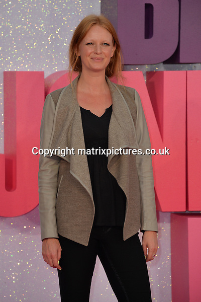 NON EXCLUSIVE PICTURE: MATRIXPICTURES.CO.UK<br /> PLEASE CREDIT ALL USES<br /> <br /> WORLD RIGHTS<br /> <br /> English model Olivia Inge attends the world premiere of &quot;Bridget Jones's Baby&quot; at Leicester Square in London.<br /> <br /> SEPTEMBER 5th 2016<br /> <br /> REF: JWN 162864