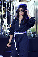 www.acepixs.com<br /> September 29, 2017 New York City<br /> <br /> Camila Cabello performing on NBC's 'Today' at Rockefeller Plaza on September 29, 2017 in New York City. <br /> <br /> Credit: Kristin Callahan/ACE Pictures<br /> <br /> Tel: (646) 769 0430<br /> e-mail: info@acepixs.com