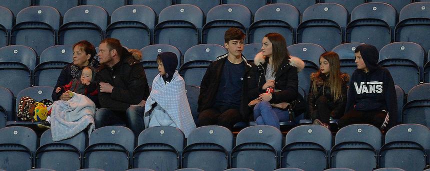 Fans<br /> <br /> <br /> Photographer Dave Howarth/CameraSport<br /> <br /> Football - The Football League Sky Bet Championship - Preston North End v Burnley - Friday 22nd April 2016 - Deepdale - Preston<br /> <br /> &copy; CameraSport - 43 Linden Ave. Countesthorpe. Leicester. England. LE8 5PG - Tel: +44 (0) 116 277 4147 - admin@camerasport.com - www.camerasport.com