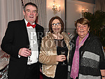 Martin and Judy Carr and Pat Donaghy at the Drogheda Independent Sports Star of the Year Awards in The Westcourt Hotel. Photo:Colin Bell/pressphotos.ie