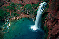 Havisu Falls and pool, Arizona