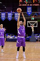 Saints&rsquo; Jordan Mills in action during the NBL - Wellington Saints v Supercity Rangers at TSB Bank Arena, Wellington, New Zealand on Friday 5 May 2017.<br /> Photo by Masanori Udagawa<br /> www.photowellington.photoshelter.com.