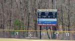THOMASTON, CT-031820JS008- The baseball fields at Thomaston High School on Wednesday. <br />   Jim Shannon Republican-American