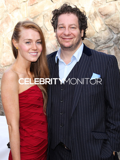 BURBANK, CA, USA - JUNE 26: Virginia Collins and Jeffrey Ross arrive at the 40th Annual Saturn Awards held at The Castaway on June 26, 2014 in Burbank, California, United States. (Photo by Xavier Collin/Celebrity Monitor)