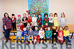 Students from the Blennerville Community Playschool ready for their Christmas Concert and Family Fun Day in St Brendans Blennerville NS on Saturday.