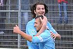 Sandhausen 05.12.2009, 3. Liga SV Sandhausen - FC Ingolstadt 04, Torjubel zum 1:2 von Ingolstadts Markus Karl und dem Torsch&uuml;tzen Ingolstadts Ersin Demir<br /> <br /> Foto &copy; Rhein-Neckar-Picture *** Foto ist honorarpflichtig! *** Auf Anfrage in h&ouml;herer Qualit&auml;t/Aufl&ouml;sung. Ver&ouml;ffentlichung ausschliesslich f&uuml;r journalistisch-publizistische Zwecke. Belegexemplar erbeten.