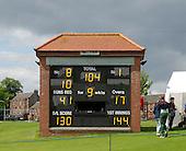 ICC World T20 Qualifier - GROUP B MATCH - Afghanistan v Oman at Heriots CC, Edinburgh - the final score — credit @ICC/Donald MacLeod - 15.07.15 - 07702 319 738 -clanmacleod@btinternet.com - www.donald-macleod.com