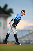 Charlotte Stone Crabs pitcher Blake Snell (11) gets ready to deliver a pitch during a game against the Bradenton Marauders on April 20, 2015 at McKechnie Field in Bradenton, Florida.  Charlotte defeated Bradenton 6-2.  (Mike Janes/Four Seam Images)