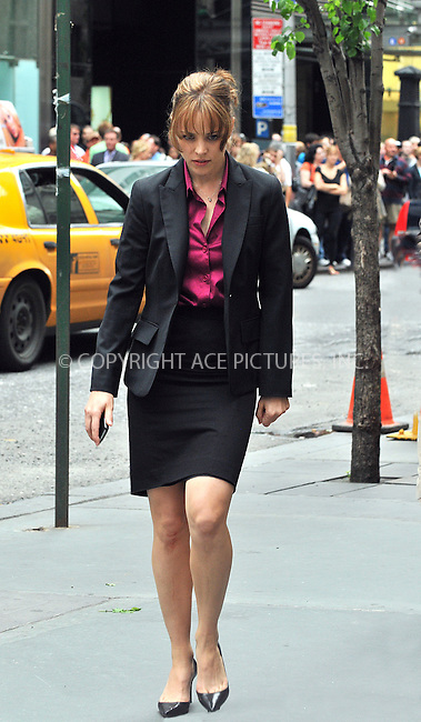 WWW.ACEPIXS.COM . . . . .  ....June 22 2009, New York City....Actor Rachel McAdams on the set of the new movie 'Morning Glory' on the Upper West Side of Manhattan on June 22 2009 in New York City....Please byline: AJ Sokalner - ACEPIXS.COM..... *** ***..Ace Pictures, Inc:  ..tel: (212) 243 8787..e-mail: info@acepixs.com..web: http://www.acepixs.com