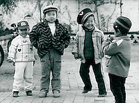 in Datong, China 1989