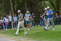 Lucas Bjerregaard (DEN) and Marc Leishman (AUS) head down 3 during round 3 of the World Golf Championships, Mexico, Club De Golf Chapultepec, Mexico City, Mexico. 2/23/2019.<br /> Picture: Golffile | Ken Murray<br /> <br /> <br /> All photo usage must carry mandatory copyright credit (© Golffile | Ken Murray)