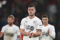 Burnley's Kevin Long acknowledges the fans at the end of the game<br /> <br /> Photographer Rob Newell/CameraSport<br /> <br /> The Premier League - Saturday 1st December 2018 - Crystal Palace v Burnley - Selhurst Park - London<br /> <br /> World Copyright &copy; 2018 CameraSport. All rights reserved. 43 Linden Ave. Countesthorpe. Leicester. England. LE8 5PG - Tel: +44 (0) 116 277 4147 - admin@camerasport.com - www.camerasport.com