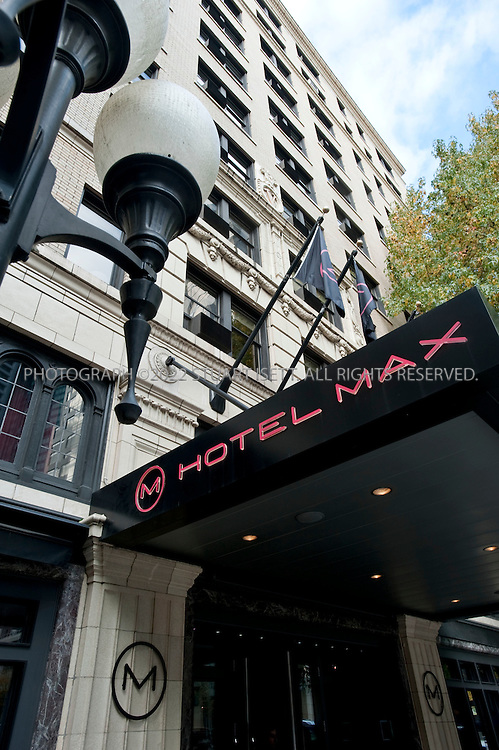 11/12/2009--Seattle, WA, USA..Hotel Max, 620 Stewart St., downtown Seattle...©2009 Stuart Isett. All rights reserved.
