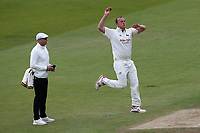 Luke Fletcher in bowling action for Nottinghamshire during Nottinghamshire CCC vs Essex CCC, Specsavers County Championship Division 1 Cricket at Trent Bridge on 1st July 2019