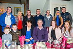 John Russell, Kilflynn, celebrates his  60th birthday in Cassidys with family and friends on Saturday