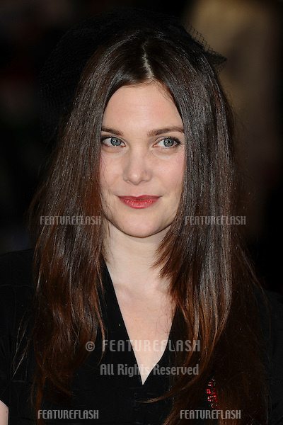 "Liz White arriving for the premiere of ""The Woman in Black"" at the Royal Festival Hall, South Bank, London.  24/01/2012 Picture by: Steve Vas / Featureflash"