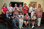 All the Athletes who won awards at the Special Olympics Summer Party in the Boyne Valley Hotel...Photo NEWSFILE/Jenny Matthews.(Photo credit should read Jenny Matthews/NEWSFILE)....This Picture has been sent you under the condtions enclosed by:.Newsfile Ltd..The Studio,.Millmount Abbey,.Drogheda,.Co Meath..Ireland..Tel: +353(0)41-9871240.Fax: +353(0)41-9871260.GSM: +353(0)86-2500958.email: pictures@newsfile.ie.www.newsfile.ie.FTP: 193.120.102.198.