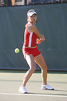 STANFORD, CA - OCTOBER 28:  Veronica Li during picture day on October 28, 2008 at the Taube Family Tennis Stadium in Stanford, California.