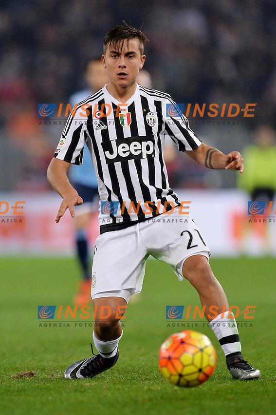 Paulo Dybala Juventus.<br /> Roma 4-12-2015 Stadio Olimpico, Football Calcio 2015/2016 Serie A Lazio - Juventus. Foto Antonietta Baldassarre / Insidefoto