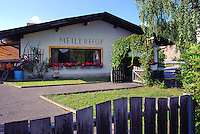 Meilerhof small family restaurant in Alps, Reith bei Seefeld (Tirol, Austria)
