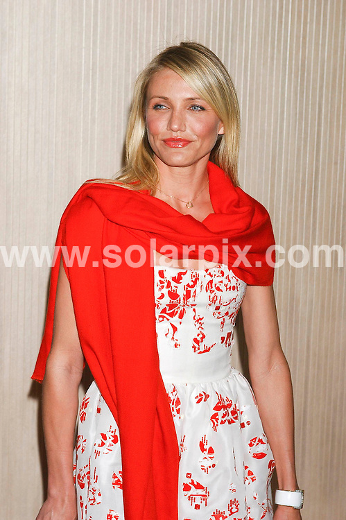 **ALL ROUND PICTURES FROM SOLARPIX.COM**.**SYNDICATION RIGHTS FOR UK, SPAIN, PORTUGAL, AUSTRALIA, S.AFRICA & DUBAI (U.A.E) ONLY**.arrivals for the 2008 Women In Film Crystal + Lucy Awards held at the Beverly Hilton Hotel, Beverly Hills, CA, USA. 17th June 2008..This pic: Cameron Diaz..JOB REF: 6696 PHZ /GL    DATE: 17_06_2008.**MUST CREDIT SOLARPIX.COM OR DOUBLE FEE WILL BE CHARGED* *UNDER NO CIRCUMSTANCES IS THIS IMAGE TO BE REPRODUCED FOR ANY ONLINE EDITION WITHOUT PRIOR PERMISSION*