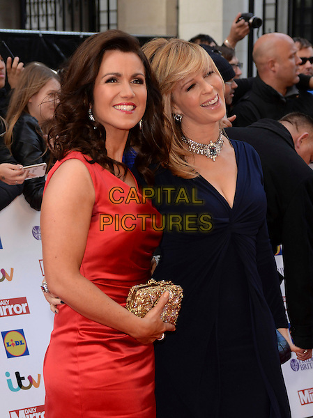 LONDON, ENGLAND - SEPTEMBER 28: Susannah Reid, Kate Garraway attends the Pride of Britain Awards at The Grosvenor House Hotel on September 28, 2015 in London, England.<br /> CAP/DH<br /> &copy;DH/Capital Pictures